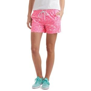 Vineyard Vines Performance Sand Dollar Pink Shorts